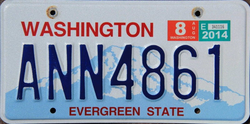 2014 license plates for sale and trade and display at for Washington fishing license cost 2017